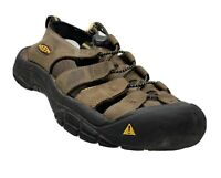 Keen Newport 1001870 Men's Bison Pull-On Bungee Lacing Sport Sandals Size 8.0