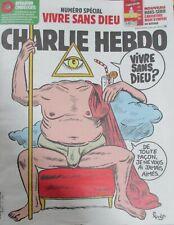 CHARLIE HEBDO N° 1424 de Novembre 2019 SPÉCIAL VIVRE SANS DIEU ? CARICATURE DIEU