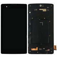 For LG K8 V k8V Verizon VZW-LG-VS500PP LCD Screen Touch Digitizer with Frame