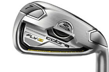 NEW! Cobra Fly Z Golf Irons - White - 4 to PW - Stiff - 1* Flat - Winn Grips -RH
