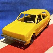 Rare Volkswagen VW Golf Mk1 Yellow Car Model VA 400497 Great Conditon Retro 1980