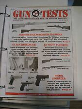 Gun Tests Magazine Sept 2008 Bolt Action Rifles 45 ACP Revolvers Pistol Upgrades