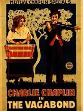Movie film charlie chaplin vagabond silencieux 1916 petit vagabond poster BB6573B