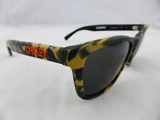 Oakley FROGSKINS Sunglasses Eric Koston LX Matte Camo - Dark Grey Lenes
