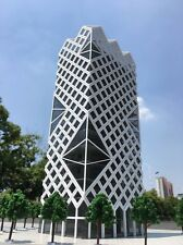 N Scale 1/160 Modern scientific research building