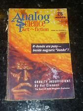 ANALOG : SCIENCE FACT SCIENCE FICTION - Vol XVIII No 3 - 03/1962 UK Edition