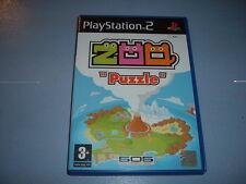 ZOO PUZZLE PS2 COMPLET (envoi suivi)