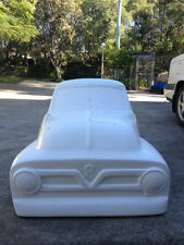 1953 Ford F100 hot rod stroller pedal car fiberglass body rat rod 1954