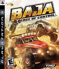 Baja: Edge of Control (Sony PlayStation 3, 2008) PS3 Complete Game