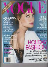 VOGUE Magazine December 2010 Angelina Jolie in The Tourist,HOLIDAY FASHION