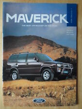 FORD Maverick range 1996 orig UK Market brochure