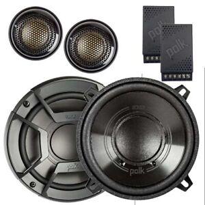 """Polk Audio DB6502 6.5"""" 300W 2 Way Split Car Speakers"""