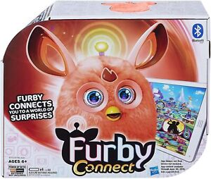 Furby Connect Orange Interactive Toy Electronic Pet Bluetooth App Brand New