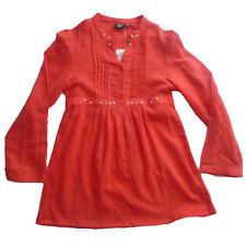 Camisas niña de Creem girl,rojo , talla 8