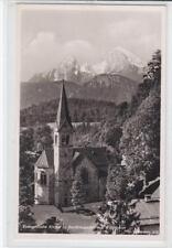 AK Berchtesgaden, Evangelische Kirche m. Watzmann, 1956