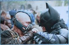 CHRISTIAN BALE & TOM HARDY SIGNED 11x17 PHOTO DCCOA (THE DARK NIGHT RISES) PROOF