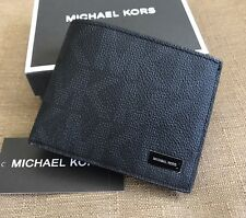 MICHAEL KORS MEN'S SIGNATURE SLIM BILFOLD WALLET WITH IDENTITY PROTECTION
