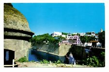 Casa Blanca Old San Juan Postcard Puerto Rico Walls Built in 1523 Unposted