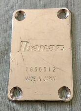 1985 Ibanez RB850 Roadstar II Bass Guitar Original Black Neck Plate Japan