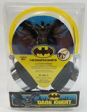 Batman Dark Knight Wired Headphones DJ Style Stereo iPhone Compatible
