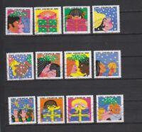 Serie sellos adhesivos de Francia 2015 Yvert AD 1190/01