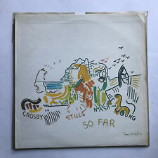 CROSBY STILLS NASH AND YOUNG - SO FAR * VINYL LP * FREE P&P UK * ATLANTIC K50023