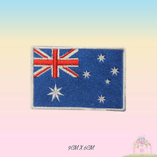 Australia National Flag Embroidered Iron On Patch Sew On Badge Applique