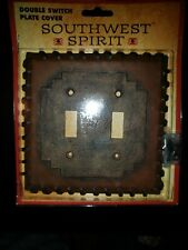 Southwest Spirit Big Sky Carvers Double Switch Plate Cover, Brand New