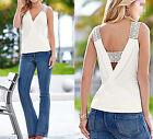 Top Casual Women Summer Tank Tops Vest T-Shirt Blouse Blouse Sleeveless