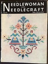 NEEDLEWOMAN & Needlecraft Magazine: N. 49, lavoro a maglia uncinetto, ricamo