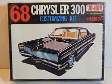 Vintage Johan 1968 Chrysler 300 2 Door Hardtop Customizing Model Kit ~ Sealed