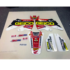 98 99 CR 125 & 97 1998 1999 CR 250 TEAM HONDA GEICO FACTORY CONNECTION GRAPHIC