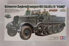 TAMIYA 35239 German 18 Ton Half-track Famo 1:35 Military Model Kit