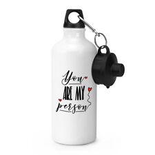 Sie Mein Person Sport Getränke Wasserflasche