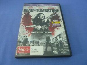 Dead In Tombstone DVD Danny Trejo Mickey Rourke Region 2,4,5