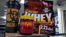 Mutant whey 5lbs., shaker, creakong