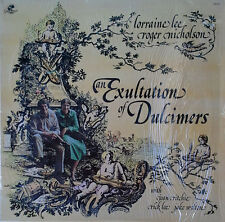 LORRAINE LEE / ROGER NICHOLSON - EXULTATION OF DULCIMERS  - STILL IN SHRINK WRAP