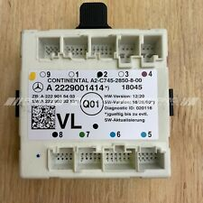 genuine mercedes C205 W205 front left passenger door control module A2229001414