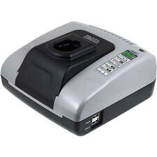 Powery Akku-Ladegerät mit USB für DEWALT Akkutyp EZWA57 7,2V-18V   Grau