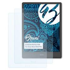 Bruni 2x Folie für Onyx Boox Note Pro Schutzfolie Displayschutzfolie