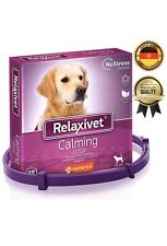 Relaxivet Calming Collar For Dogs All Sizes Appeasing Effect Reduce Anxiety