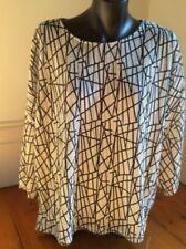 Zara Women's Regular Size Polyester Tops for Women
