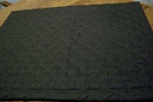"Brown Quilted Microfiber Standard Pillow Sham/29"" x 23"""