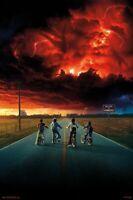 Stranger Things Season 2 - Key Art Poster Mehrfarbig