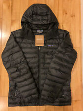 NEW Patagonia Down Sweater Hoody Jacket BLACK Mens L