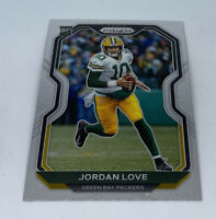 2020 Panini Prizm #363 Jordan Love Rookie RC Green Bay Packers