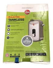 New Rheem RETEX-13 Residential Electric Tankless Water Heater Sealed
