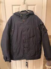 Rare Gap Artic Expedition Dark Navy Blue Parka Jacket Men Size Large