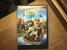 Alpha and Omega (DVD, 2011, Canadian)(cut box)