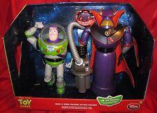 "Toy Story Talking Emperor 15"" ZURG & 12"" Buzz Lightyear COLLECTOR SET! NEW!"